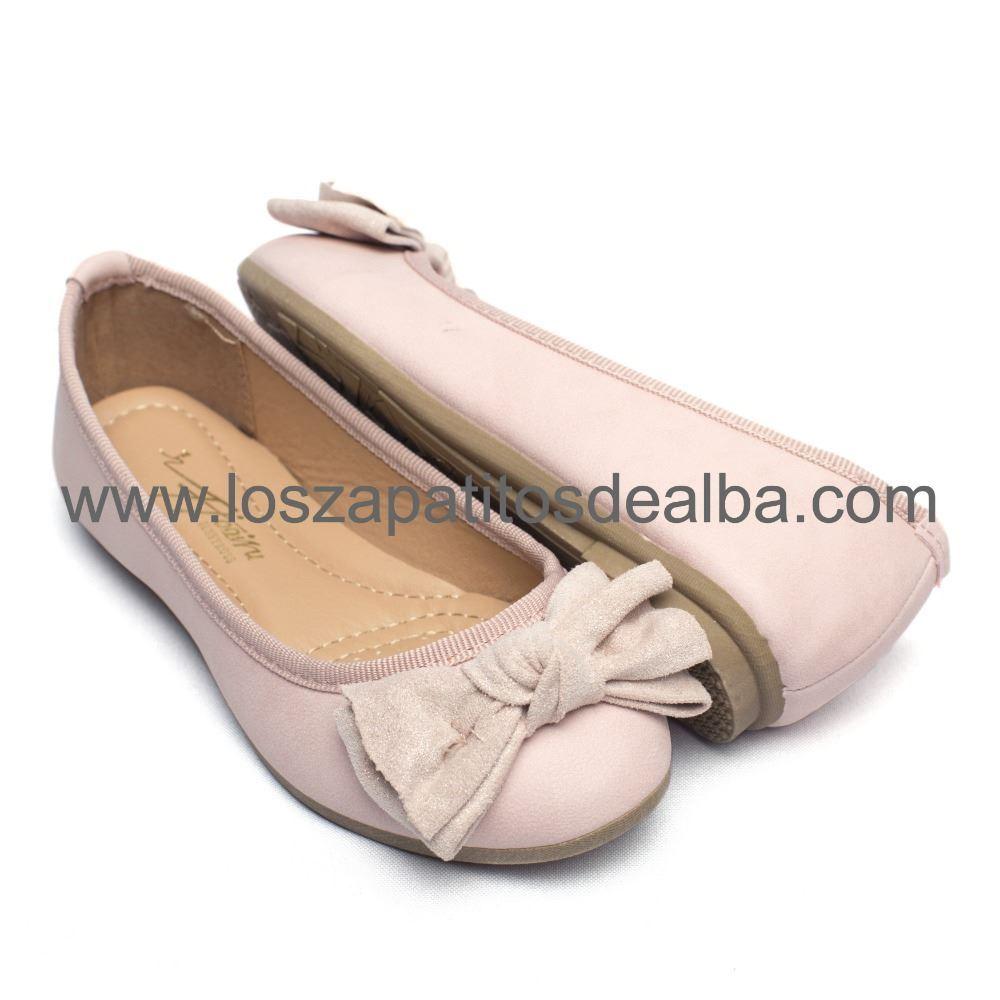 5f307804519 ... Zapatos Comunión Niña Rosa (2)