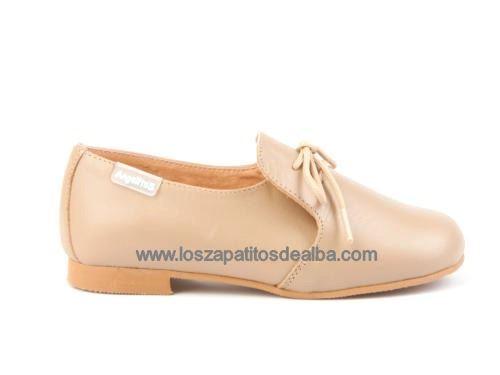 85e0e2d04 Comprar Zapato comunión niño camel Marca Angelitos baratos