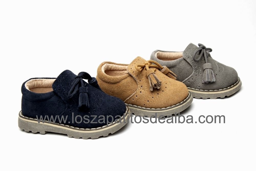 db82b114675 Comprar Zapatos Niños Azul Marino Flecos Baratos