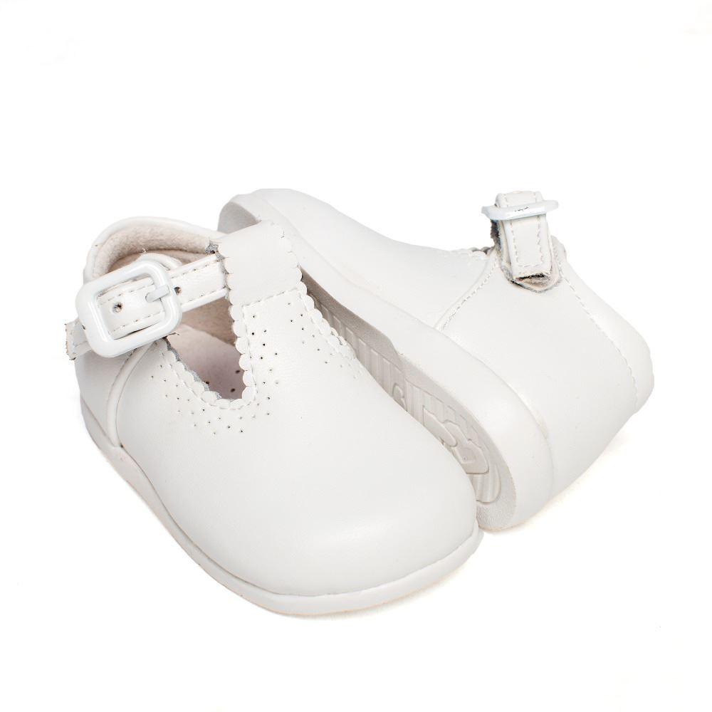 15382ae9934 ... Zapatos Primeros Pasos Bebé Niño Pepito piel blanco (1) ...