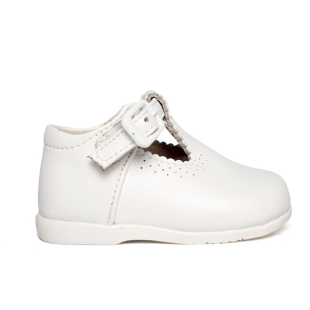 4e4ac238f52 Zapatos Primeros Pasos Bebé Niño Pepito piel blanco baratos